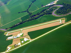 Aerial photo of KMEY (James G Whiting Memorial Field Airport)