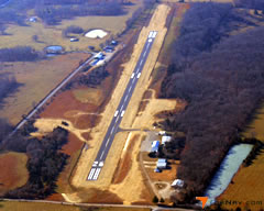 Aerial photo of 1MO (Mountain Grove Memorial Airport)