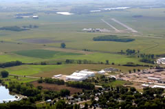 Aerial photo of KFRM (Fairmont Municipal Airport)