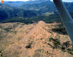 Aerial photo of M45 (Alpine County Airport)