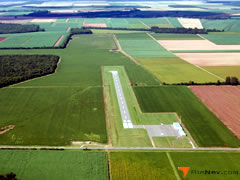Aerial photo of 2R6 (Bunkie Municipal Airport)
