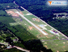 Aerial photo of 3F4 (Vivian Airport)