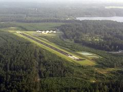 Aerial photo of F87 (Union Parish Airport)