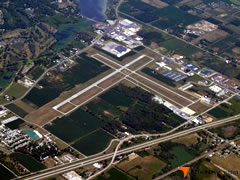 Aerial photo of KPCW (Erie-Ottawa International Airport)