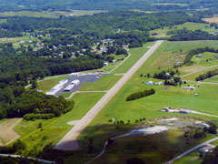 Aerial photo of KTSO (Carroll County-Tolson Airport)