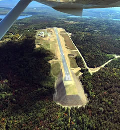 Aerial photo of 8B0 (Stephen A Bean Municipal Airport)