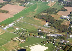 Aerial photo of 0W3 (Harford County Airport)