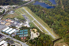 Aerial photo of KCGS (College Park Airport)