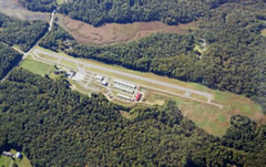 Aerial photo of 58M (Claremont Airport)