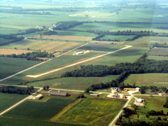 Aerial photo of K19 (Albany Municipal Airport)
