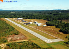 Aerial photo of KGDM (Gardner Municipal Airport)