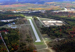 Aerial photo of Y89 (Kalkaska City Airport)