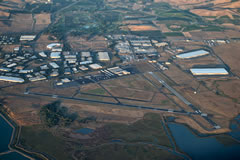 Aerial photo of KAPC (Napa County Airport)