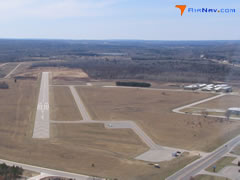 Aerial photo of 9C8 (Evart Municipal Airport)
