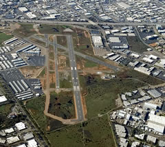 Aerial photo of KMYF (Montgomery-Gibbs Executive Airport)