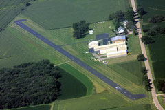 Aerial photo of 44C (Beloit Airport)
