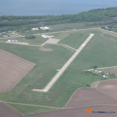 Aerial photo of KSFY (Tri-Township Airport)