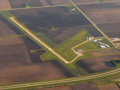 Aerial photo of KTOB (Dodge Center Airport)