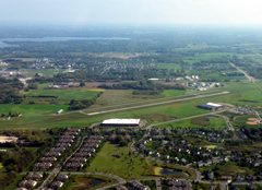 Aerial photo of 25D (Forest Lake Airport)