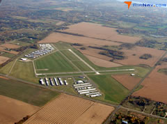 Aerial photo of 21D (Lake Elmo Airport)