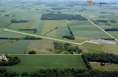 Aerial photo of KGYL (Glencoe Municipal Airport)
