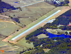 Aerial photo of 3A7 (Eutaw Municipal Airport)