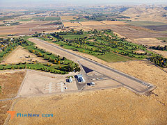 Aerial photo of S75 (Payette Municipal Airport)