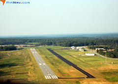 Aerial photo of KEOE (Newberry County Airport)