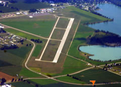 Aerial photo of KADG (Lenawee County Airport)