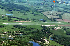 Aerial photo of H88 (A Paul Vance Fredericktown Regional Airport)