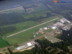 Aerial photo of KVKS (Vicksburg Municipal Airport)