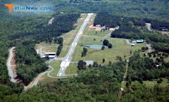 Aerial photo of 2A2 (Holley Mountain Airpark)