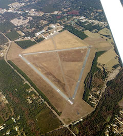 Aerial photo of 40J (Perry-Foley Airport)