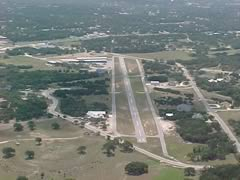 Aerial photo of 1T7 (Kestrel Airpark)