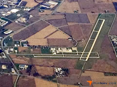 Aerial photo of KDKB (De Kalb Taylor Municipal Airport)