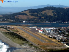 Aerial photo of 4S1 (Gold Beach Municipal Airport)