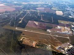 Aerial photo of KUVA (Garner Field Airport)