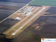 Aerial photo of KPYX (Perryton Ochiltree County Airport)