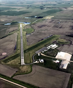 Aerial photo of 93Y (David City Municipal Airport)