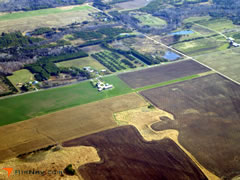 Aerial photo of 1WI8 (Jorgensen - Stoller Airport)