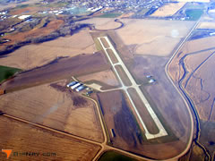 Aerial photo of 0B4 (Hartington Municipal Airport / Bud Becker Field)