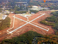 Aerial photo of 5B2 (Saratoga County Airport)