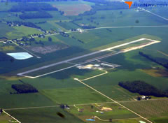 Aerial photo of S24 (Sandusky County Regional Airport)