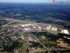 Aerial photo of KRME (Griffiss International Airport)