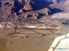 Aerial photo of KENV (Wendover Airport)