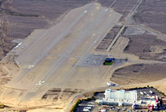 Aerial photo of 0L7 (Jean Airport)