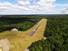 Aerial photo of WI36 (Dolhun Field Airport)