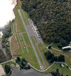 Aerial photo of 12N (Aeroflex-Andover Airport)