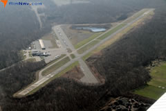 Aerial photo of 4N1 (Greenwood Lake Airport)