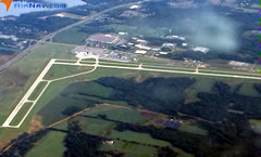 Aerial photo of KCWA (Central Wisconsin Airport)